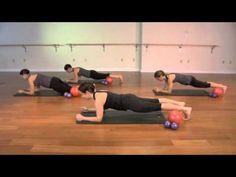 40 Minute | Small Ball Mat Workout = Body Burn! - YouTube