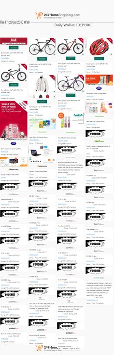 Our Savings for the 29/07/2016 at 13:42    Unmissable Deals on the 247homeshopping SUPER SAVER WALL!    http://www.247homeshopping.com/29-07-2016.htm?smm=pintwall29-07-2016-pFB1