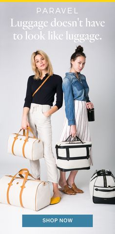 Adventure awaits…and so does your next bag. Shop our collection of good-looking, functional travel bags without sky-high designer price tags. Travel Luggage, Luggage Bags, Travel Bags, Travel Packing, Travel Backpack, Travel Ideas, Travel Photos, Travel Inspiration, Handbags Michael Kors