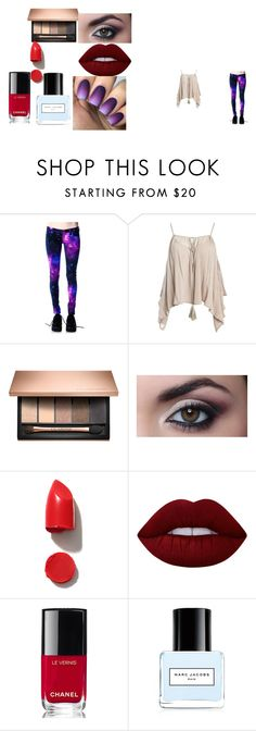 """beauty project"" by anthoneshastar242 ❤ liked on Polyvore featuring beauty, Sans Souci, NARS Cosmetics, Lime Crime, Chanel and Marc Jacobs"