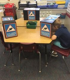 """""""Loving our homemade """"recording studios"""" for Classroom Organization, Classroom Decor, First Grade, Second Grade, Apps For Teaching, Teaching Ideas, 21st Century Learning, Computer Lab, Seesaw"""
