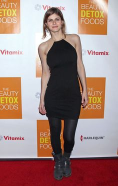 Alexandra Daddario: 'Beauty Detox Foods' Book Launch: Photo Alexandra Daddario steps out for the book launch party for Alexandra Daddario, Beauty Detox, Most Beautiful Hollywood Actress, Midi Skater Dress, Black Tankini, Evan Rachel Wood, American Actress, Actresses, Fashion Outfits