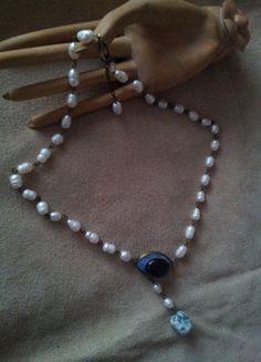 A vendre sur #vintedfrance ! http://www.vinted.fr/accessoires/colliers/15703190-pendentif-collier-sautoir-bimba-lola-perles-et-pierres