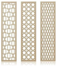 Crestview Doors introduces 6 decorative, midcentury-style wall screens / room dividers