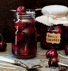 Delicious Cinnamon Bourbon Cherries Recipe Homesteading  - The Homestead Survival .Com