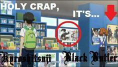 Kuroshitsuji is popular in other animes too!!!!!