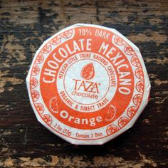 Taza Chocolate - made in Somerville, MA  TazaChocolate.com