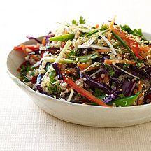 Salade de quinoa asiatique