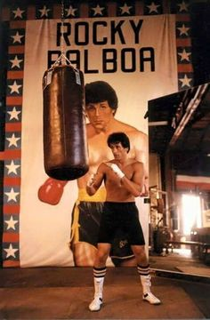 ROCKY III - Sylvester Stallone - Written & Directed by Sylvester Stallone - MGM - Publicity Still.