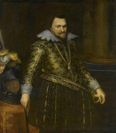 Le prince Philippe Guillaume d'Orange (1608, Rijksmuseum, Amsterdam) de Michiel Jansz. van Mierevelt (1567-1641)