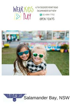 6c2a1ea0dfc WEAR KIDS PLAY - something for every child at every age. Babiators Aus NZ