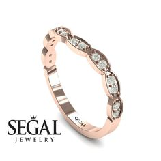 Rose Gold Engagement Ring : A Princess Ring Bridal Set Diamond Ring- Lucy no. 2 Rose Gold Engagement Ring by Segal Jewelry Sharing is caring, don't forget Unique Diamond Engagement Rings, Princess Cut Engagement Rings, Designer Engagement Rings, Vintage Engagement Rings, Diamond Rings, Black Diamond, Halo Engagement, Solitaire Rings, Vintage Rings