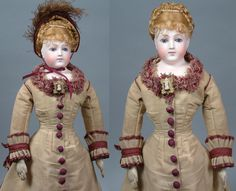 "Exceptional 19"" Portrait Jumeau Poupee Sold at Maison Simonne In from kathylibratysantiques on Ruby Lane"