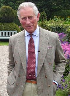 Prince Charles...more handsome as he ages.  Finally happy and his own man.