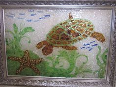 Under The Sea SOLD » Dr Jack's Sea Glass Art -