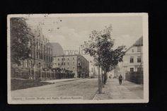 alte AK Gleiwitz Coseler Straße mit Kath. Knaben Konvikt. Schlesien Gliwice   eBay
