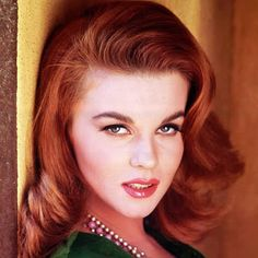 "Ann-Margret said it best in her autobiography, that she had to go from ""Little Miss Lollipop to Sexpot-Banshee"". Ann-Margret had to play the girl next door and then qui… Mike Nichols, Ann Margret Photos, Celebrity Makeup Looks, Celebrities Before And After, Gorgeous Redhead, Natural Redhead, Actrices Hollywood, Marylin Monroe, Classic Beauty"