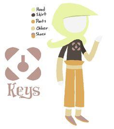 Tike of Keys by Kakity