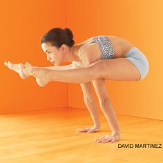 Tittibhasana - Firefly Pose.  Core strength #yoga