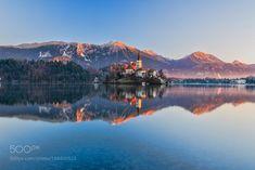 500px Editors Choice : Lake Bled sunrise by jz22
