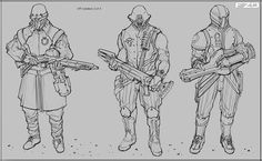 SPF Soldiers - Feng Zhu