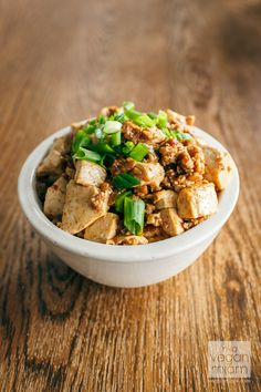 Spicy Mapo Tofu