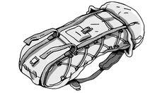 Lowe Alpine's Internal Frame Pack was a huge step forward in design.