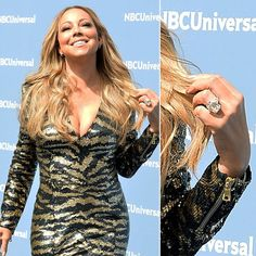 Pin for Later: Ogle the Most Massive Celebrity Engagement Rings Mariah Carey