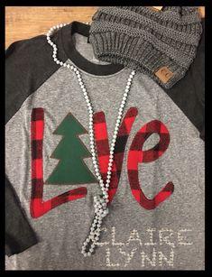 Monogram Shirts, Vinyl Shirts, Vinyl Designs, Shirt Designs, Christmas Vinyl, Xmas, Shilouette Cameo, Silhouette Machine, Silhouette Cameo Projects