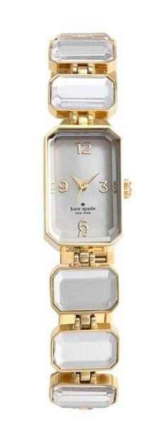 Beautiful, crystal bracelet watch