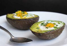 Baked Eggs in Avocados | 29 Tasty Vegetarian Paleo Recipes