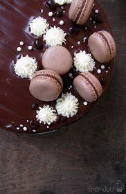 fromJuci: Narancsos trüffel torta