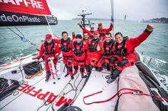 VolvoOceanRace 2017/18  Mapfre (Spain) winner of Leg Zero! . en.nauticwebnews.com/regattas