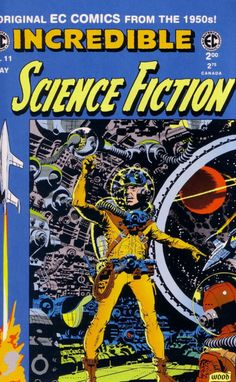 Science Fiction magazine  Wally Wood