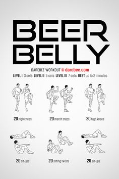 Summer is coming! So it is time to lose the beer belly. - Summer is coming! So it is time to lose the beer belly. Fitness Workouts, Gym Workout Tips, Easy Workouts, At Home Workouts, Workout Plans, Tummy Workout, Workout Bodyweight, Calisthenics Workout Routine, Hiit Workouts For Men