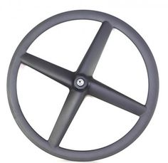 Fixie gear carbon fiber four spoke wheel from Timetec Bike