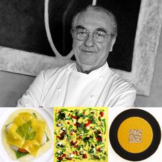 3 star - Chef Gualtiero Marchesi - Restaurant L'Albergo del Mercato MIlan, Italy #italianfood #italianchef #italianrestaurant www.100ITA.com