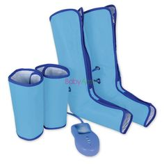 58.65$  Buy now - http://aliuyy.worldwells.pw/go.php?t=32698806123 - Air Compression Leg Wraps Regular Massager Foot Ankles Calf Therapy Circulation Healthcare Compression Left & Right Leg Massager