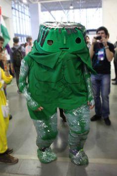 Hulkbob Square Pants? #cosplay