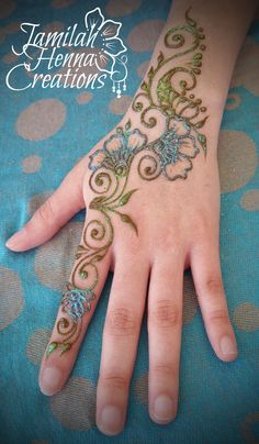 Spring henna www.JamilahHennaCreations.com