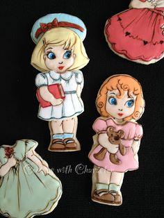 Galletas con Carácter: Paper Dolls