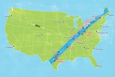 The next eclipse in U.S. in 2024 will go right over my hometown (between Erie and Buffalo) Can't wait!