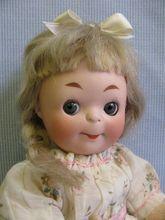 "8"" RARE Early Doll Googly #322.17 Heubach Koppelsdorf Impish Face, Sleep Eyes"