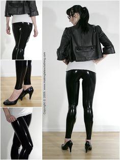 http://makinglatexclothing.com/2009/02/how-to-make-your-own-latex-leggings-tutorial/