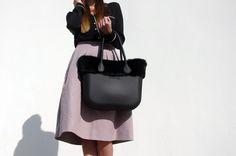 O Bag, My Black, Bucket Bag, Personal Style, How To Wear, Tops, Fashion, Moda, Fashion Styles