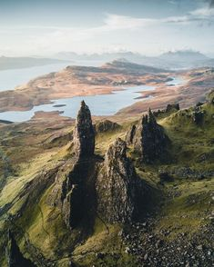 Titans, Old man of Storr, Isle of Skye, Scotland, by Manuel Dietrich Places To Travel, Places To See, Beautiful World, Beautiful Places, Landscape Photography, Nature Photography, Travel Photography, Canon Photography, Scotland Travel