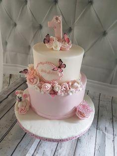 Birthday Wishes Cake, Butterfly Birthday Party, Baby Birthday Cakes, Minnie Birthday, Halloween 1st Birthdays, Halloween Cakes, Baby Shower Desserts, Baby Shower Cakes, Butterfly Cakes