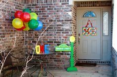 idea para decorar el frente de la casa :D