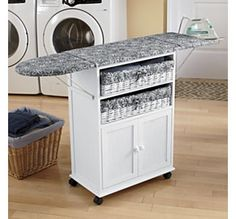 2-Basket Cottage-Style Ironing Board