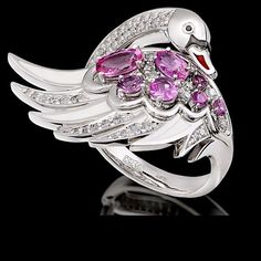 Swan ring.